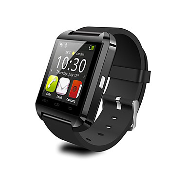 U8 Wearable Smartwatch,Camera Message Media Control/Hands-Free Calls/Anti-lost for Android/iOS Smartphone