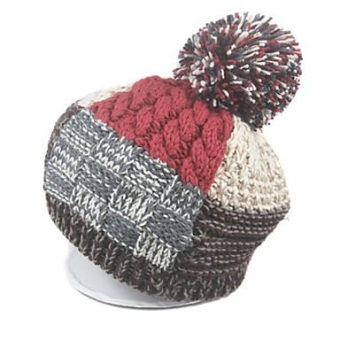 grande palla griglia di lavoro a maglia cappello / cappello a maglia delle donne del 2609341 ...