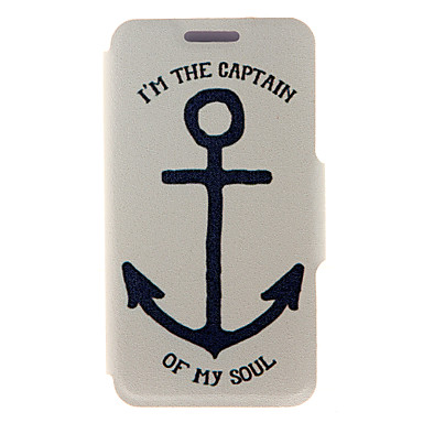 Kinston Anchor Pattern PU Leather Full Body Cover with Stand for HTC Desire Eye/M910