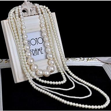 New Ankunft Fashional Beliebte mehrschichtiges Perlen-Halsketten-