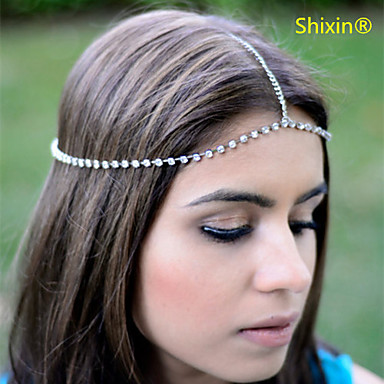 Shixin® Alloy/Rhinestone Headbands Wedding/Party/Daily/Casual 1pc