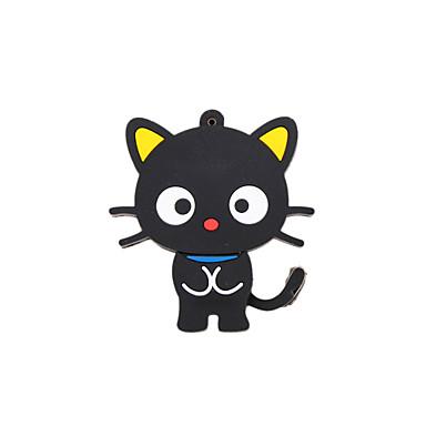 Cartoon New Black Cute Cat USB 2.0 Memory Flash Stick Pen Drive 2GB