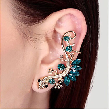 House Lizard Alloy/Rhinestone Ear Cuffs Wedding/Party/Daily/Casual 1pc