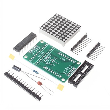 MAX7219 Dot Matrix MCU Control Display Module DIY Kit