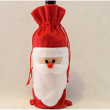 Regalo bolsa de vino santa claus padre bolsa de navidad - Regalo padre navidad ...
