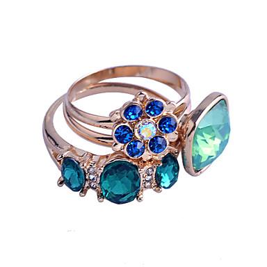 Anillos fiesta diario casual joyas cristal chapado for Disenos de joyas en oro