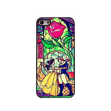 Cartoon couple Design Aluminum Hard Case iPhone 5/5S