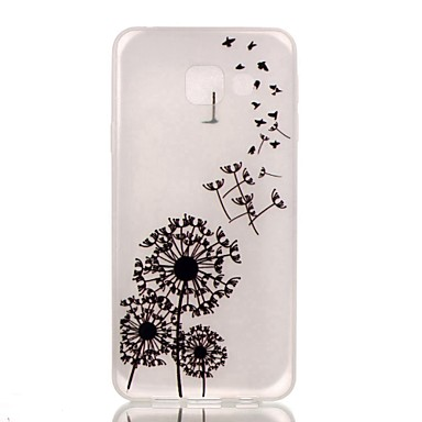 Samsung Galaxy Case Glow Dark / Pattern Back Cover Dandelion TPU A3(2016)