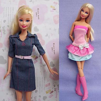 Кукла Барби Летние платья 2 шт