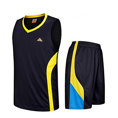 Others Men's Sleeveless Leisure Sports / Badminton Basketball Running Clothing Sets Quick Dry