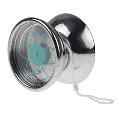 Professionele roestvrij staal satellietbaan yoyo bal 3 dragende touw truc speelgoed gift zilver - String kantoor ...