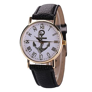 damen modeuhr quartz armbanduhren f r den alltag leder. Black Bedroom Furniture Sets. Home Design Ideas