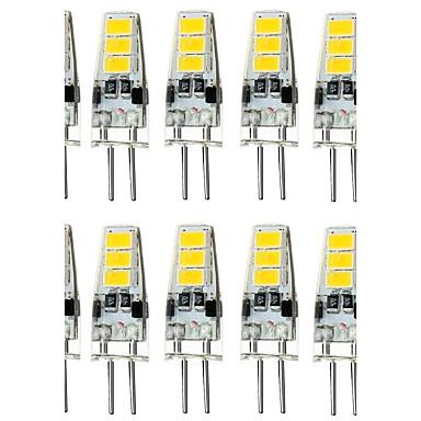 4w g4 led lampor med g sockel t 6 smd 5733 300 400 lm varmvit kallvit dekorativ vattent t dc. Black Bedroom Furniture Sets. Home Design Ideas
