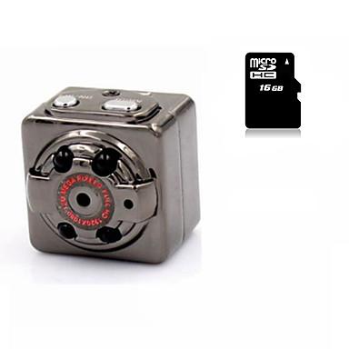 Sport Mini Camera HYQ8 DV Voice Video Recorder Infrared Night Vision Digital Hidden Camcorder 16G MicroSD