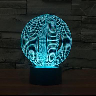 cercle la balle touche gradation 3d conduit lumi re de. Black Bedroom Furniture Sets. Home Design Ideas