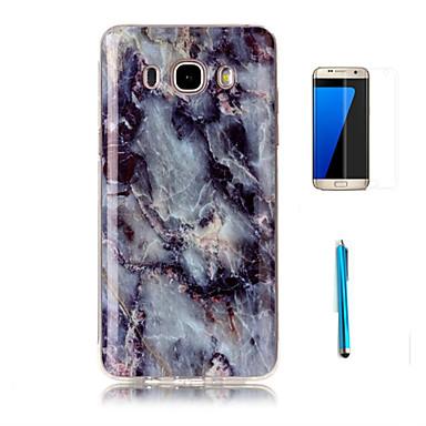 Pour Motif Coque Coque Arri Re Coque Marbre Flexible Tpu Samsung J7 2016 J7 J5 J3 2016