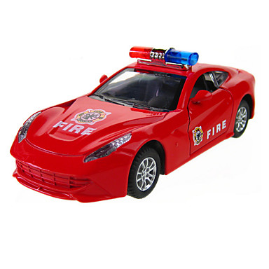 Educational Toy Model  Building Toy Car Metal Red For Boys / For Girls
