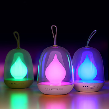 Night Lamp Flame Portable Bombillas Usb Rechargeable Led