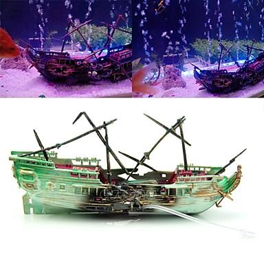 Aquarium Decoration Ornament Plastic Resin