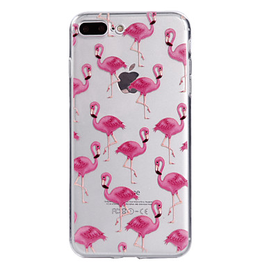 Case For Apple iPhone 7 7 Plus Case Cover Flamingo Pattern Painted High Penetration TPU Material Soft Case Phone Case For iPhone 6S 6 Plus SE 5S 5