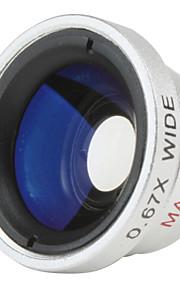 grandangolare e macro per cellulare e fotocamera digitale