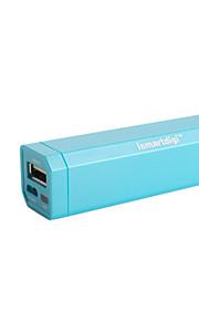 2600mAh estación portátil de alimentación externa para el iPhone, iPad, sumsang, HTC, Nokia, PSP, NDS, etc