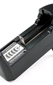 EU-Stecker Universal Single-Ladegerät für 16340 14500 17670 18650 Batterien