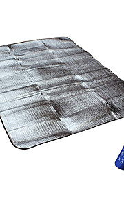 Travel Aluminum Waterproof Mat For Beach, Lawn, Sleeping and Picnic (Small)
