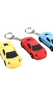 bil lyd og lys nøglering (tilfældige farver)