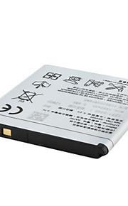 vervangende mobiele telefoon batterij compatibel met sony ba750 (3,7 v, 1460 mah)