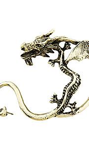 bronze og legering retro dragon øreringe