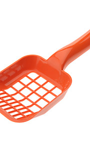 Square Hole Style Cat Litter Shovel (Assorted Color)