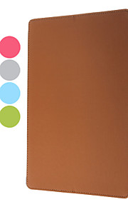 Etui/stativ i PU-lær med lydforbedringsfunksjon til iPad 2/3/4 (assorterte farger)