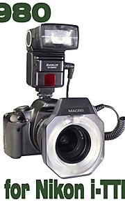 Emoblitz Di980N dupla Intelligent flash para Nikon i-TTL D7000 D700 D300 D90