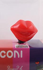 3.5mm Sexy Red Lips Pattern Anti-Staub Stecker