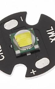 Cree XML-T6 White 16mm LED pære (sort)