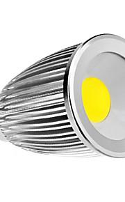 e14 / e27 7w 450-500lm varm / naturhvit cob LED spot pære (110-240V)