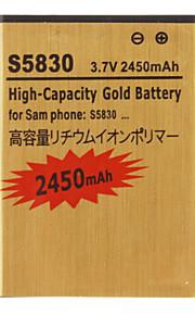 2450mAh batterij voor Samsung Galaxy Ace S5830