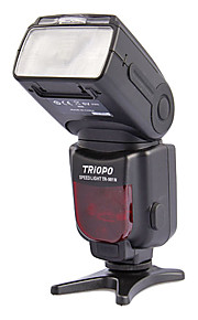 "TRIOPO TR-981N Zoom Automático 2.1 ""LCD Speedlit w / 1 LED para câmaras SLR da Nikon - Preto (4 x AA)"