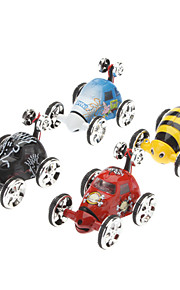 Mini Remote Control Stunt Vehicle Insect Toy (tilfældig farve, 4xAA)