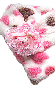 Cool Warm Hearts Pattern with Flower Scarf for Pets Dogs Cats (Assorted Sizes)