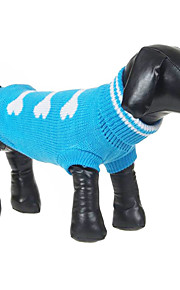 Cute Bones Pattern Warm Comfortable Sweater for Pets Dogs (Assorted Sizes)