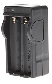 Batterij oplader voor 18650 batterij Black