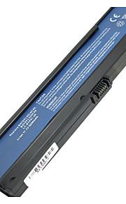 5200mAh Ersättning laptop batteri för Acer Aspire 3030 3050 3200 3600 3610 3680 5030 5050 5500 - Svart