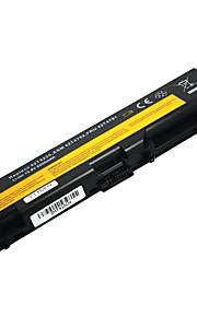 5200mAh ersättare laptop batteri för Lenovo ThinkPad E40 E50 T410 t410i T420 T510 t510i T520 W510 - svart