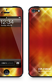 "Codice Da ™ Pelle per iPhone 5/5S: ""Red Lights Danza Pattern"" (Abstract Series)"