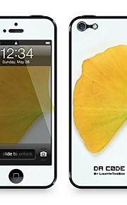 "Da Code ™ Skin voor iPhone 5/5S: ""Gingko Leaf"" (Planten-serie)"
