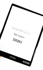 fotga® prémio LCD do painel de tela de vidro protetor para Nikon D5200
