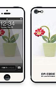 "Da Kode ™ Skin for iPhone 4/4S: ""Potten Flower"" (Creative Series)"