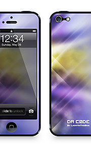 "Codice Da ™ Pelle per iPhone 5/5S: ""Lavanda Danza luci Pattern"" (Abstract Series)"